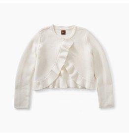 Tea Collection Ruffle Sweater Cardigan