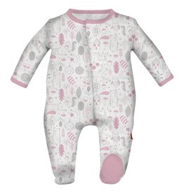 Magnetic Me Magentic Pink Into the Woods Modal Footie Preemie