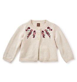 Tea Collection Eleanor Embroidered Cardigan 6-9m