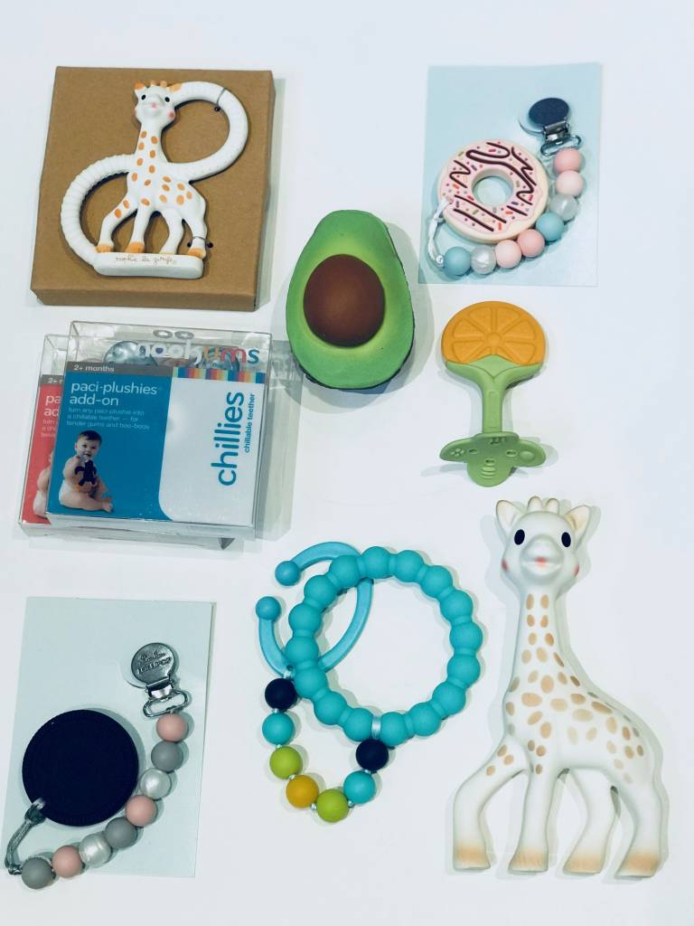 The Best Teethers for Baby: because it hurts!