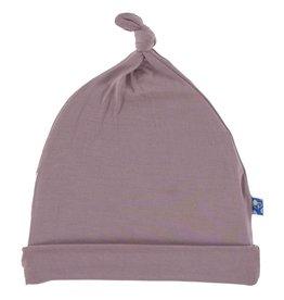 Kickee Pants Solid Knot Hat - Elderberry