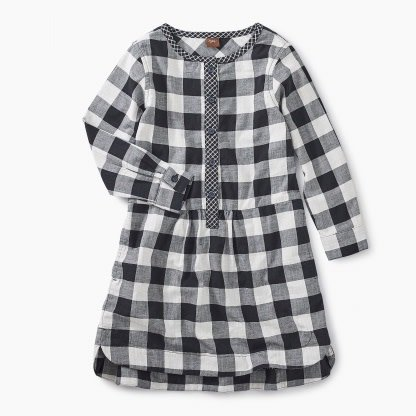 Tea Collection Checkered Plaid Shirtdress - Checkered