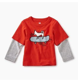 Tea Collection Cool Chihuahua Graphic Tee - Poppy