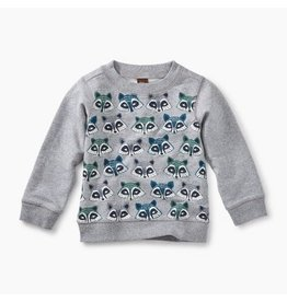 Tea Collection Raccoon Pack Popover - Med. Heather Grey