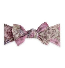 Baby Bling Bows Printed Knot (Lavendar Field)