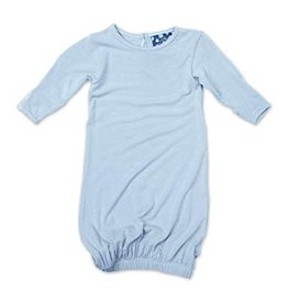 Kickee Pants Basic Layette Gown in Pond 0-3