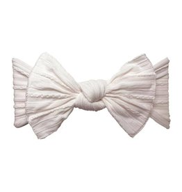 Baby Bling Bows Cable Knit Knot (Ballet Pink)