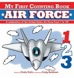 Simon and Schuster My First Counting Book: Air Force
