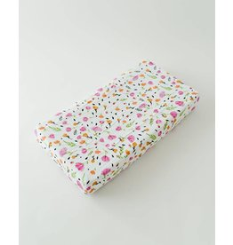 Little Unicorn Cotton Muslin Changing Pad Cover - Berry & Bloom