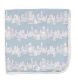 Magnetic Me Blue Aspen Modal Swaddle Blanket