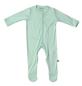 Kyte Baby Footie in Sage