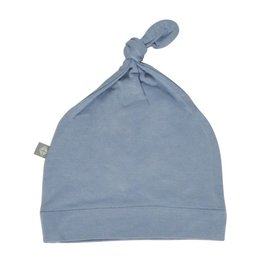 Kyte Baby Knotted Cap in Slate 0-3
