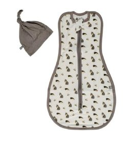 Kyte Baby Printed Swaddle Bag + Cap in Woodland 0.5 0-3M