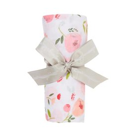 Angel Dear Bamboo Swaddle Blanket - Pretty in Pink Floral