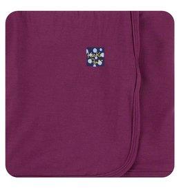 Kickee Pants Solid Swaddling Blanket -  Grapevine