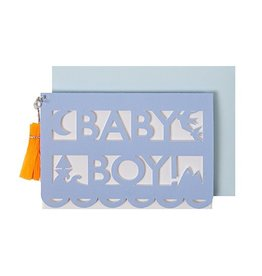 Meri Meri Baby Boy Cut Out Gift Enclosure