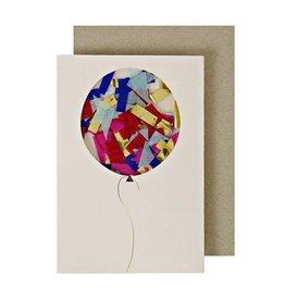 Meri Meri Balloon Confetti Enclosure Card