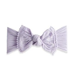 Baby Bling Bows Trimmed Classic Knot Mini Pom - Light Orchid