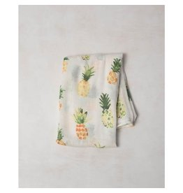 Little Unicorn Deluxe Muslin Swaddle - Single - Pineapple