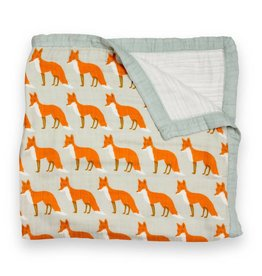 Milkbarn Kids Big Lovey - Orange Fox