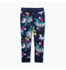 Tea Collection Blooms and Butterflies Joggers 6T