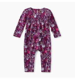 Tea Collection Smocked Romper - Forest Friends