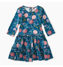 Tea Collection Printed Tiered Dress - Folksy Floral
