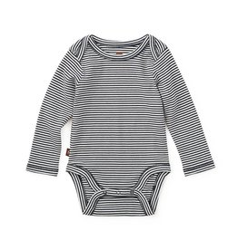 Tea Collection Striped Bodysuit Heritage Blue