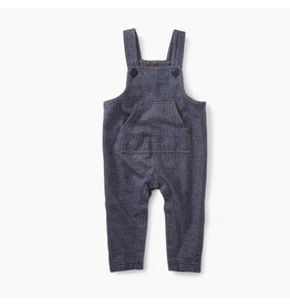 Tea Collection Denim Like Overall Indigo 6-9M