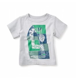 Tea Collection Mulga Snake Graphic Baby Tee 3-6M