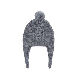 Angel Dear Cable Knit Pilot Hat