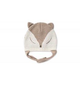 Angel Dear Fox Intarsia Pilot Hat