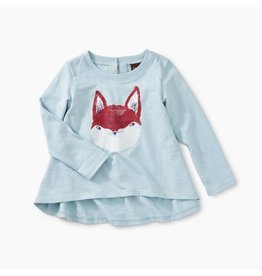 Tea Collection Friendly Fox Graphic Tee