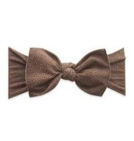 Baby Bling Bows Patterned Knot (Touchdown)