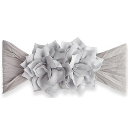 Baby Bling Bows Holiday Poinsettia (Silver)