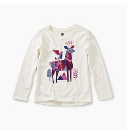 Tea Collection Lakes Lore Graphic Tee - Chalk