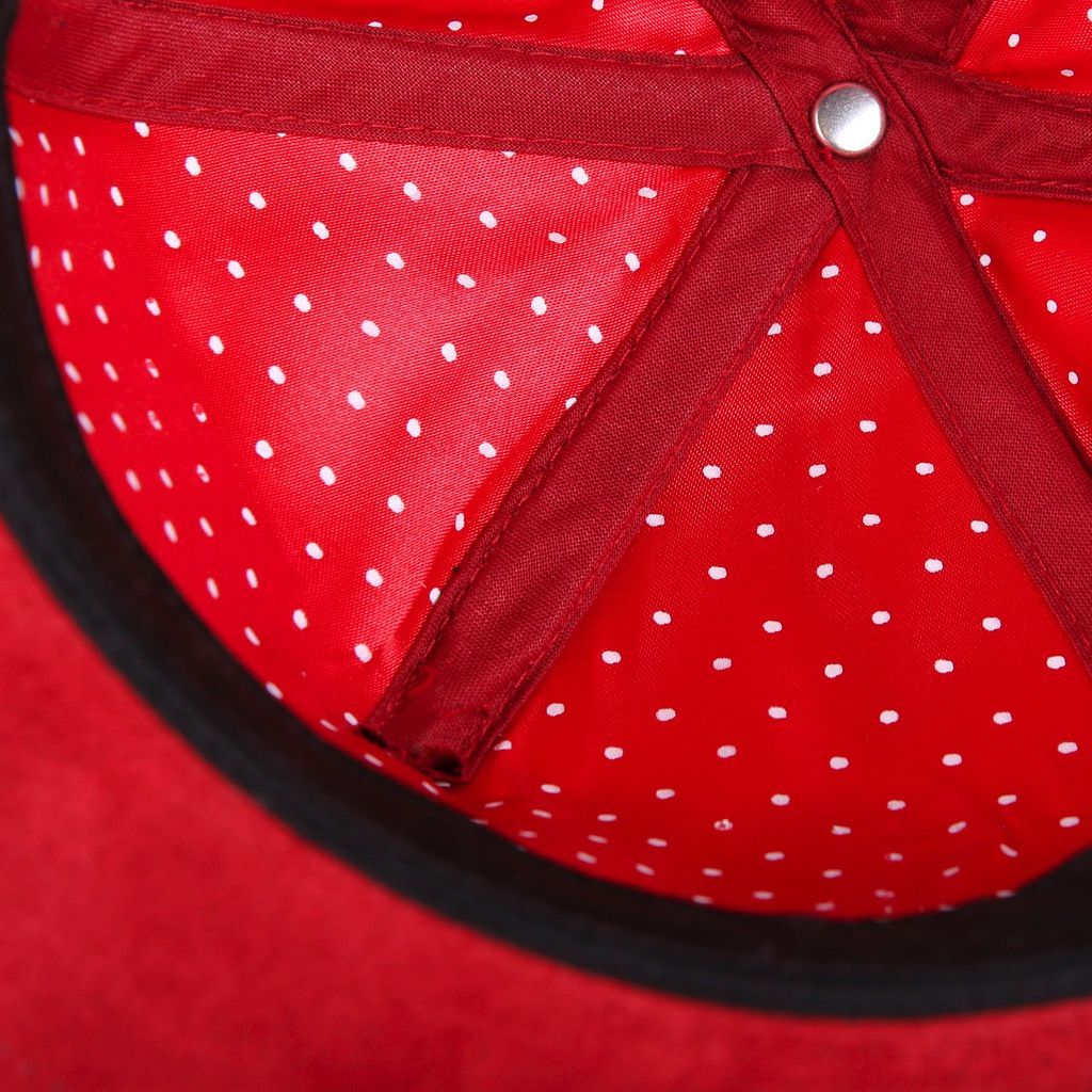 TACKMA RED LEATHER ELITE STRAP BACK - HOLIDAY 2015