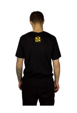 SELFMADE BLACK & YELLOW ENDED UP SELF MADE TEE