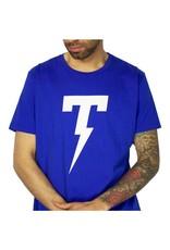 TACKMA ROYAL BLUE SIGNATURE TACKMA THUNDERBOLT TEE