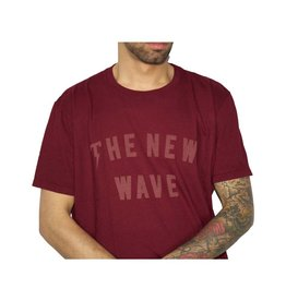 TACKMA BURGUNDY NEW WAVE TEE