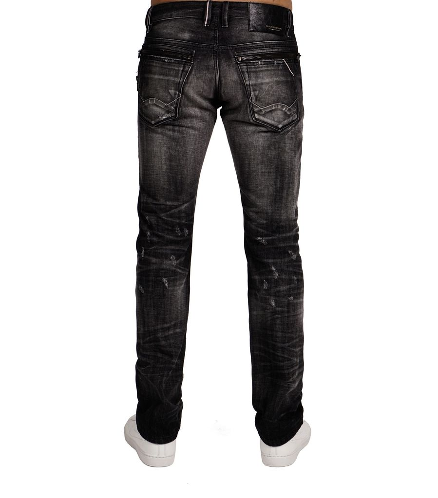 CULT OF INDIVIDUALITY REEBEL STRAIGHT WITH DOUBLE ZIPPER ON SIDE & BACK - DRAGO