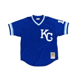Mitchell &amp; Ness Bo Jackson<br /> 1989 Authentic Mesh BP Jersey<br /> Kansas City Royals