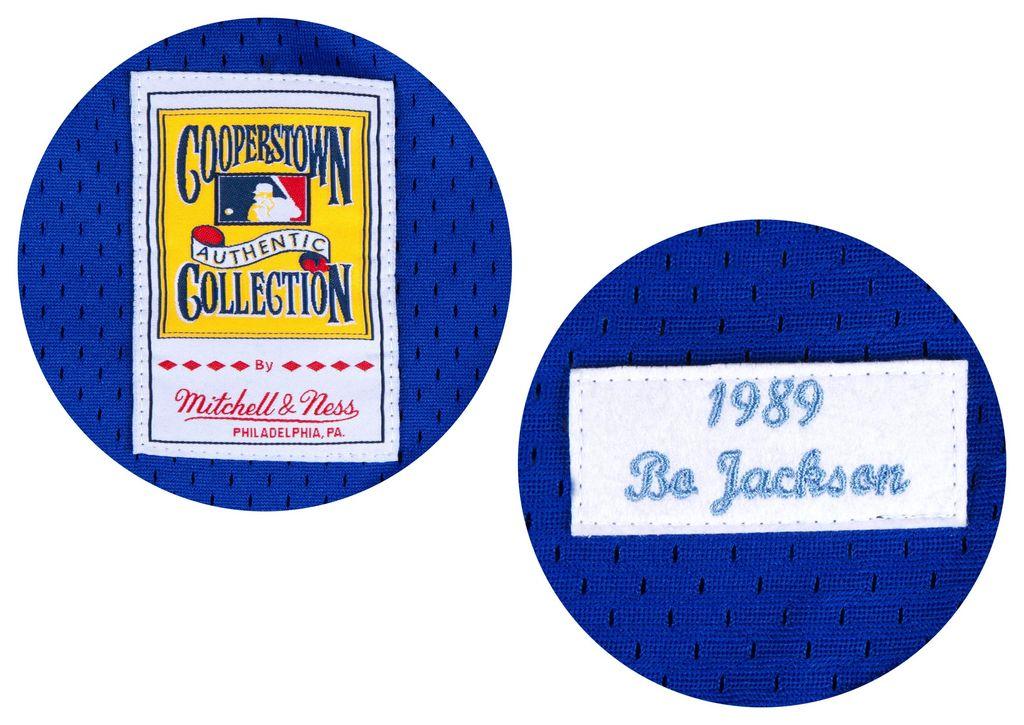 Mitchell &amp; Ness Bo Jackson<br /> 1989 Authentic Mesh BP Jersey<br /> Kansas City Royals