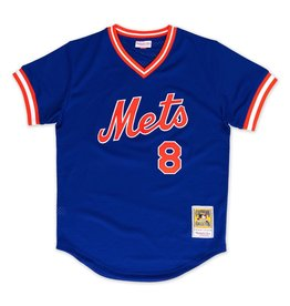 Mitchell &amp; Ness Gary Carter<br /> 1986 Authentic Mesh BP Jersey<br /> New York Mets