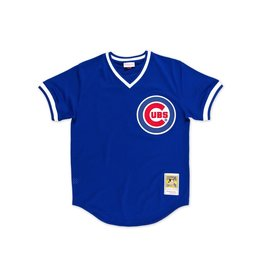 Mitchell & Ness CHICAGO CUBS RYNE SANDBERG 1984 AUTHENTIC MESH BP JERSEY