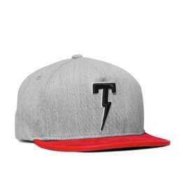 TACKMA RED WOOLY STRAPBACK