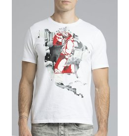 PRPS 2 MAP TEE WHITE