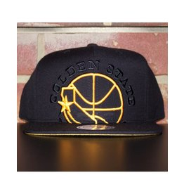 Mitchell & Ness GOLDEN STATE WARRIORS CROPPED XL SNAPBACK