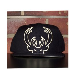 Mitchell & Ness MILWAUKEE BUCKS CROPPED XL SNAPBACK