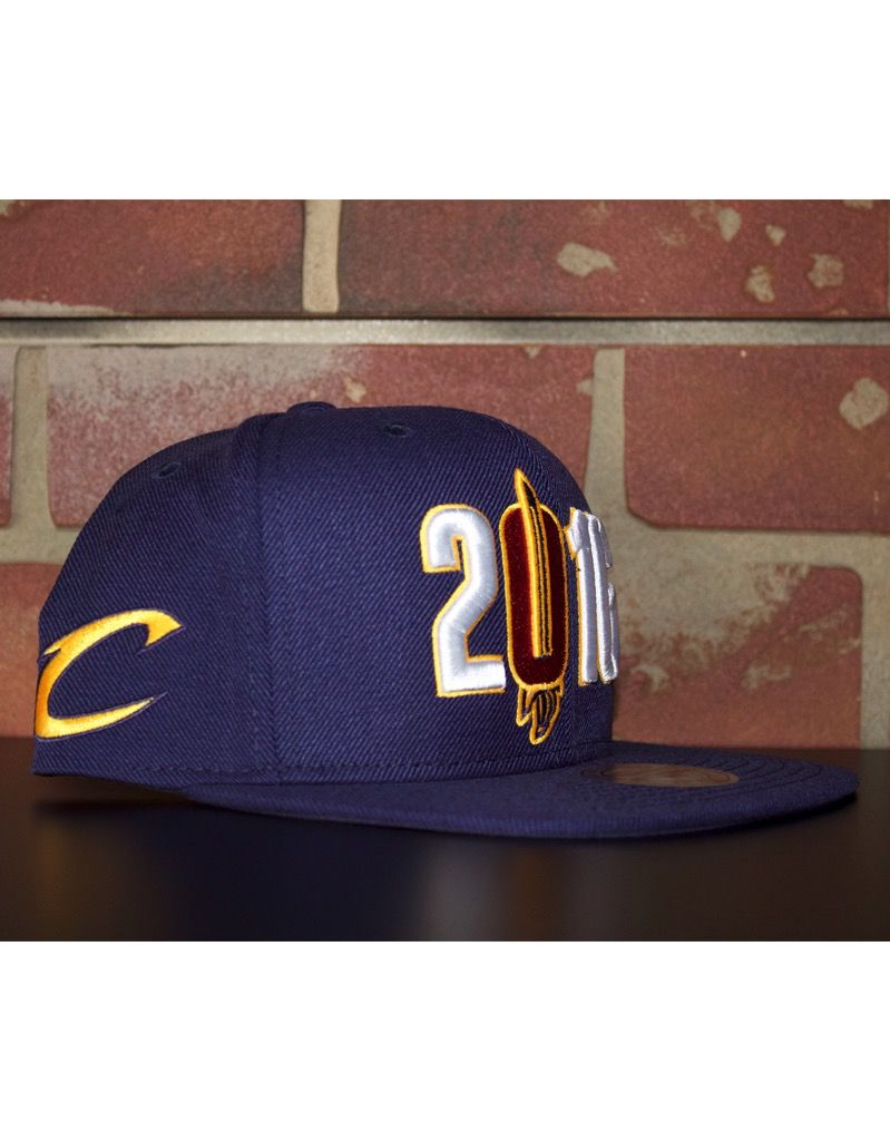 Mitchell & Ness CLEVELAND CAVALIERS 2016 SNAPBACK